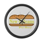 Poboy Large Wall Clock