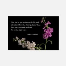 Psalm 16:11 Rectangle Magnet