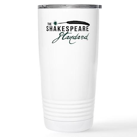 The Shakespeare Standard Logo Stainless Steel Trav
