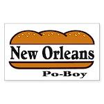 nolapoboy.jpg Sticker (Rectangle 10 pk)