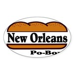 nolapoboy.jpg Sticker (Oval 10 pk)
