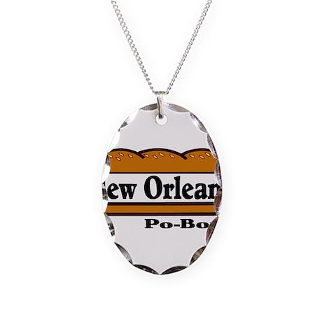 nolapoboy.jpg Necklace Oval Charm