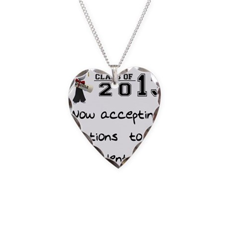 Student Loan 2013 Necklace Heart Charm