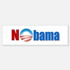 Nobama - No Obama - Bumper Bumper Sticker