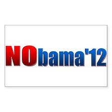 Nobama - No Obama - Decal