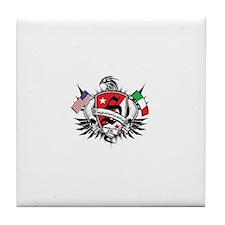 Scraps logo Tile Coaster