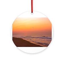 The Hamptons:Sunrise Ornament (Round)