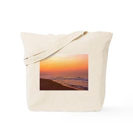 The Hamptons:Sunrise Tote Bag