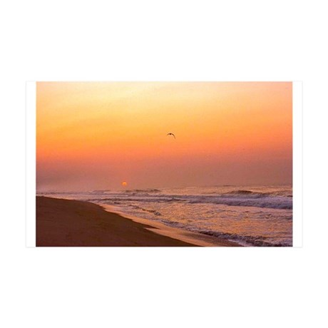 The Hamptons:Sunrise 38.5 x 24.5 Wall Peel