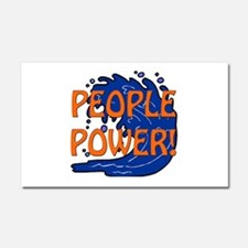 People Power Car Magnet 20 x 12
