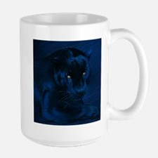 yellow eyes Large Mug