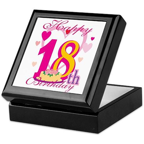 Happy 18th Birthday Keepsake Box