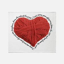 Isaiah 43:5-6 Throw Blanket