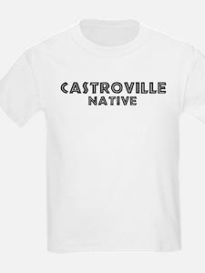 Castroville Native Kids T-Shirt