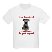 Woof means no dog T-Shirt