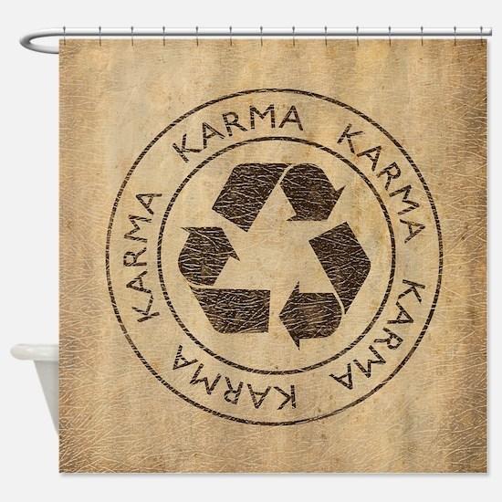 Vintage Karma Shower Curtain