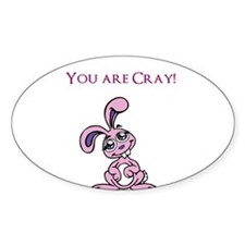 Cray bunny Decal