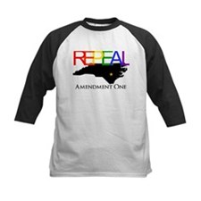 Repeal Amendment One Rainbow with NC State Tee