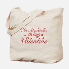 An Abyssinian is my Valentine Tote Bag