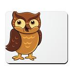 Opie the Owl Mousepad
