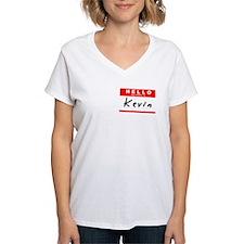 Kevin, Name Tag Sticker Shirt