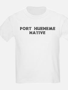 Port Hueneme Native Kids T-Shirt