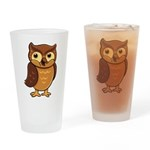 Opie the Owl Drinking Glass