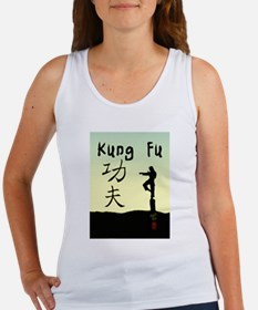 Kung fu 3.jpg Women's Tank Top