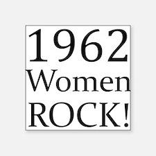 """1962 Square Sticker 3"""" x 3"""""""