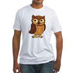 Opie the Owl Fitted T-Shirt