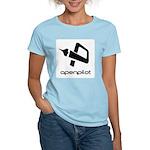 Square Logo BW no edge Women's Light T-Shirt