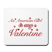 An American Curl is my Valentine Mousepad