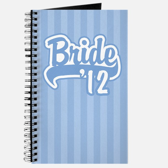 Baseball Blue Bride 2012 Journal