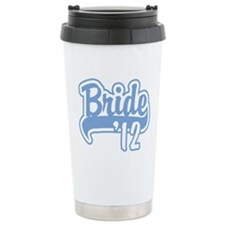 Baseball Blue Bride 2012 Travel Mug