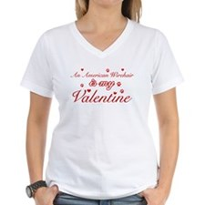 An American Wirehair is my Valentine Shirt