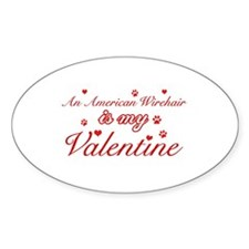 An American Wirehair is my Valentine Decal