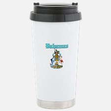 Bahamas designs Travel Mug