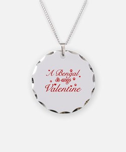 A Bengal is my valentine Necklace