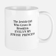 Tagline Evelyn My Jewish Princess memoir Mug