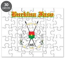 Burkina Faso designs Puzzle