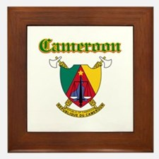 Cameroon designs Framed Tile
