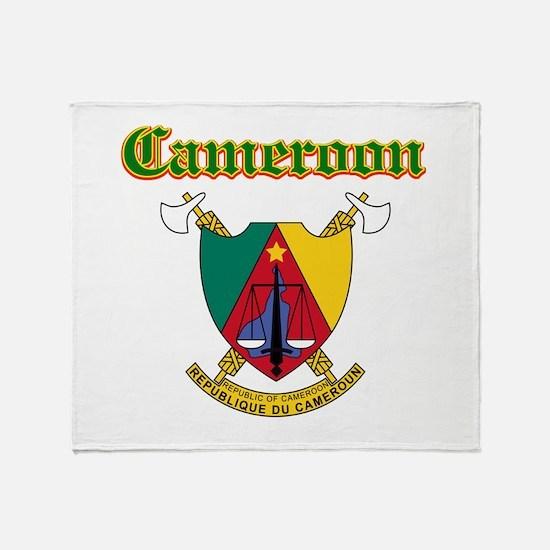 Cameroon designs Throw Blanket