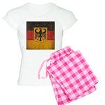 Vintage Germany Flag Women's Light Pajamas