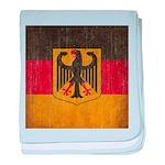 Vintage Germany Flag baby blanket