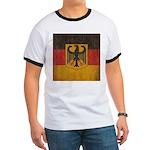 Vintage Germany Flag Ringer T