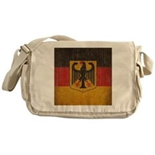 Vintage Germany Flag Messenger Bag
