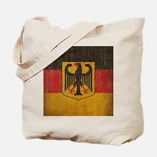 Vintage Germany Flag Tote Bag
