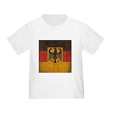 Vintage Germany Flag T