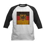 Vintage Germany Flag Kids Baseball Jersey