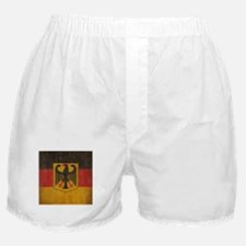 Vintage Germany Flag Boxer Shorts